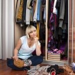 Woman in distress over current closet